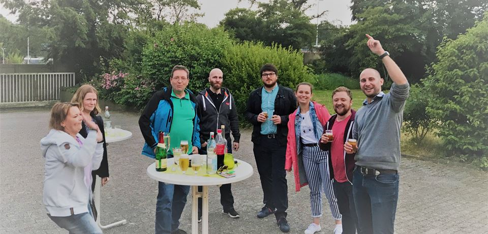 BBQ at ITM Germany
